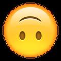 emoji upside down