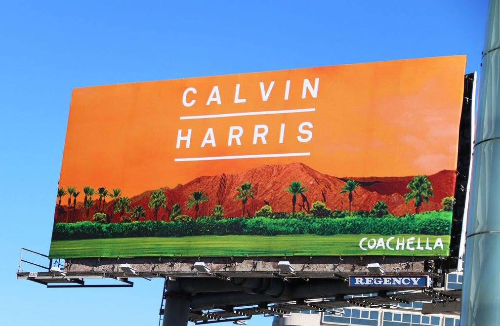 Photo credit: Calvin Harris' Facebook page